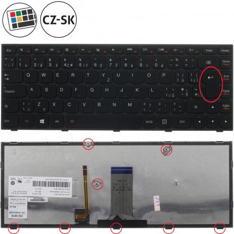 Lenovo Flex 2-14D Klávesnice pro notebook - CZ / SK + doprava zdarma + zprostředkování servisu v ČR