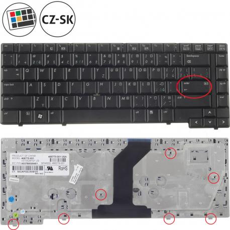 HP Compaq 6530b Klávesnice pro notebook - CZ / SK + zprostředkování servisu v ČR