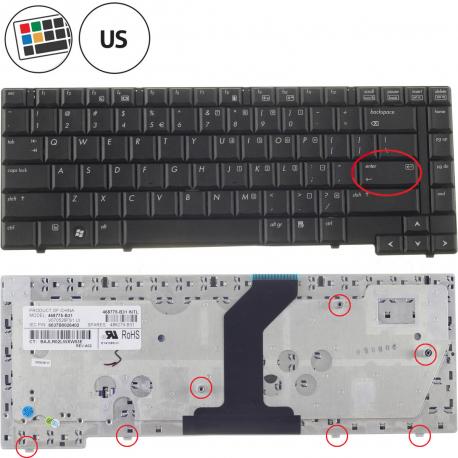 HP Compaq 6530b Klávesnice pro notebook - americká - US + zprostředkování servisu v ČR