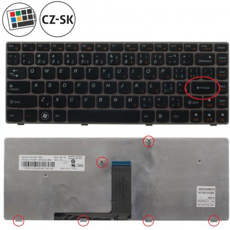 Lenovo IDEAPAD Z410 Klávesnice pro notebook - anglická - UK + zprostředkování servisu v ČR