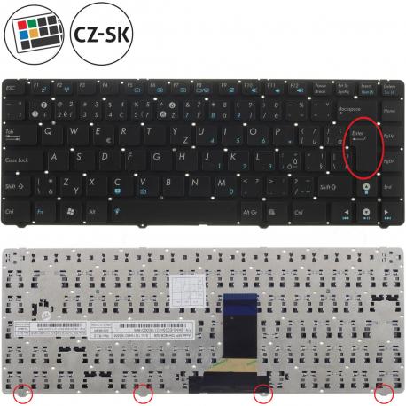 Asus U36SD Klávesnice pro notebook - CZ / SK + zprostředkování servisu v ČR