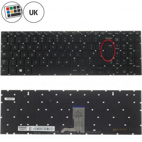 Samsung NP870Z5E-X03 Klávesnice pro notebook - anglická - UK + zprostředkování servisu v ČR