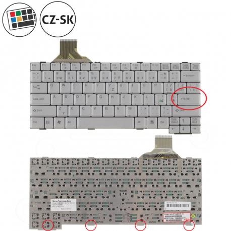 Fujitsu Siemens LIFEBOOK S6520 Klávesnice pro notebook - CZ / SK + doprava zdarma + zprostředkování servisu v ČR