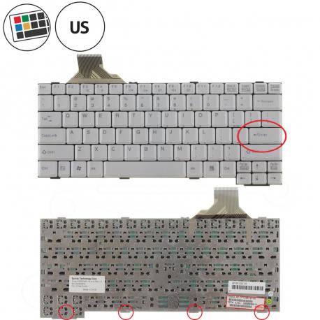 Fujitsu Siemens LIFEBOOK E8310 Klávesnice pro notebook - americká - US + doprava zdarma + zprostředkování servisu v ČR