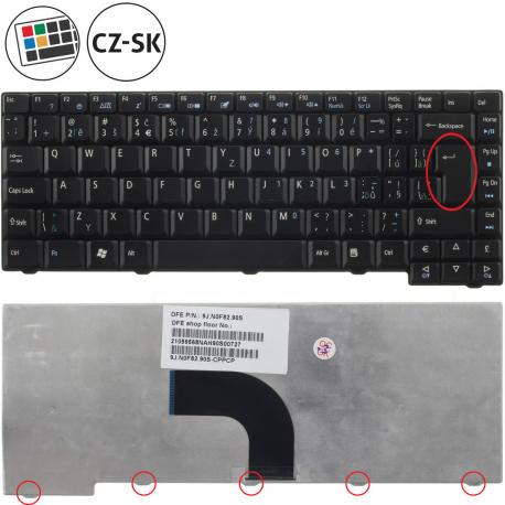 Acer Aspire 2930 Klávesnice pro notebook - CZ / SK + doprava zdarma + zprostředkování servisu v ČR