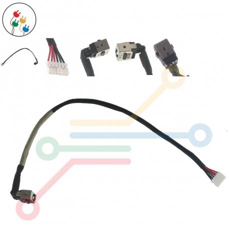 MSI CR640 Napájecí konektor - dc jack pro notebook - s připojovacím kabelem kov + zprostředkování servisu v ČR