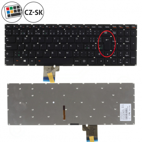 Lenovo IdeaPad U530 Touch Klávesnice pro notebook - CZ / SK + doprava zdarma + zprostředkování servisu v ČR