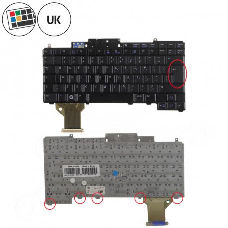 Dell Latitude D820 Klávesnice pro notebook - anglická - UK + zprostředkování servisu v ČR
