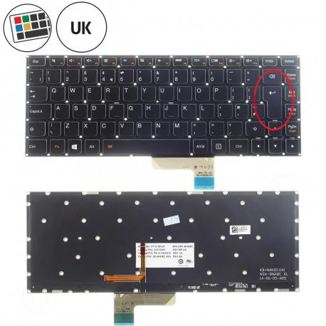 Lenovo IdeaPad Yoga 3 14 Klávesnice pro notebook - anglická - UK + zprostředkování servisu v ČR