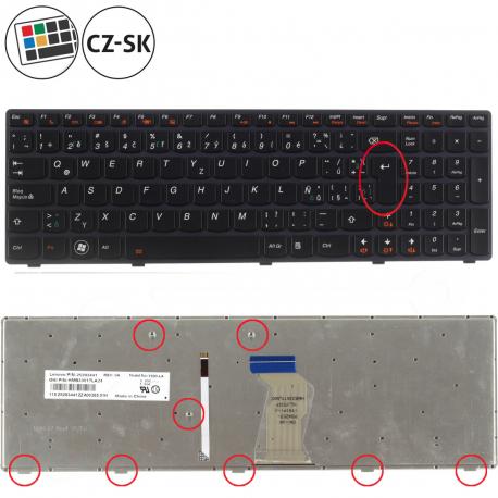Lenovo IdeaPad Y580 Klávesnice pro notebook - CZ/LAT + zprostředkování servisu v ČR
