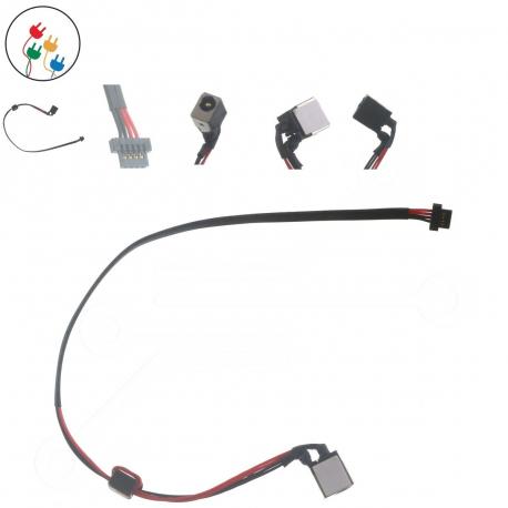 Acer TravelMate B115-M Napájecí konektor - dc jack pro notebook - délka 25 cm 4 piny s připojovacím kabelem plast + zprostředkování servisu v ČR