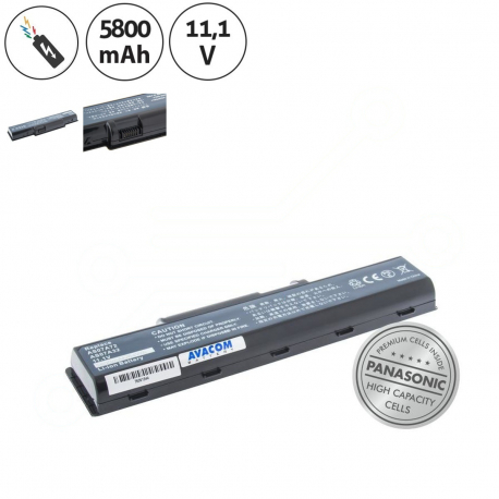 Acer Aspire 5738g-644g32mn Baterie pro notebook - 5800mAh 6 článků + doprava zdarma + zprostředkování servisu v ČR