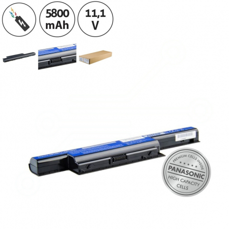 Packard Bell EasyNote LS11 Baterie pro notebook - 5800mAh 6 článků + doprava zdarma + zprostředkování servisu v ČR