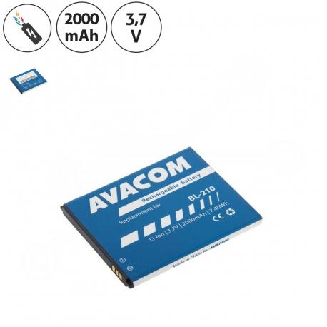 Lenovo S650 Baterie pro mobilní telefon - 2000mAh + zprostředkování servisu v ČR