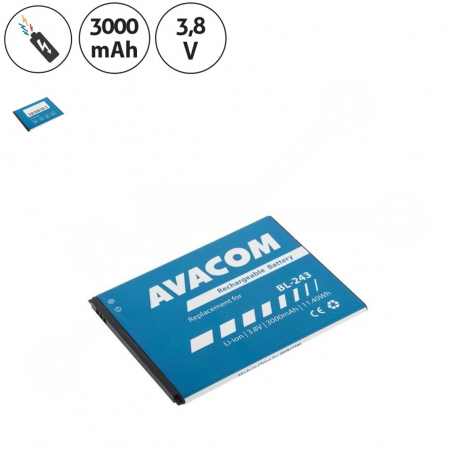 Lenovo A7000 Baterie pro mobilní telefon - 3000mAh + zprostředkování servisu v ČR