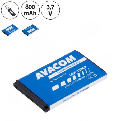 LG KM500 Baterie pro mobilní telefon - 800mAh + zprostředkování servisu v ČR