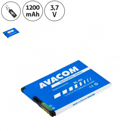 Nokia n8 Baterie pro mobilní telefon - 1200mAh + zprostředkování servisu v ČR