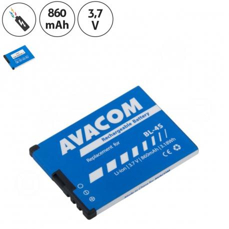 Nokia 6208 classic Baterie pro mobilní telefon - 860mAh + zprostředkování servisu v ČR