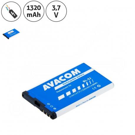 Nokia 5230 Baterie pro mobilní telefon - 1320mAh + zprostředkování servisu v ČR