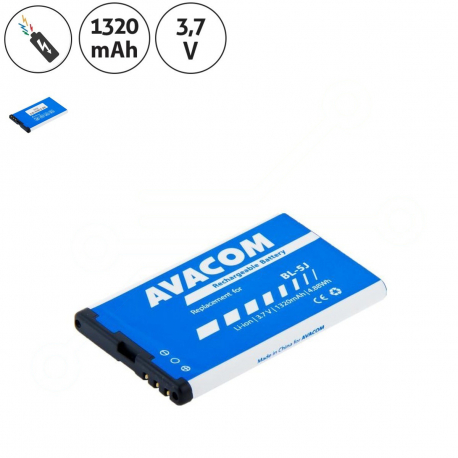 Nokia RM-914 Baterie pro mobilní telefon - 1320mAh + zprostředkování servisu v ČR