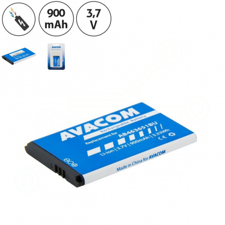 Samsung J800 Luxe Baterie pro mobilní telefon - 900mAh + zprostředkování servisu v ČR