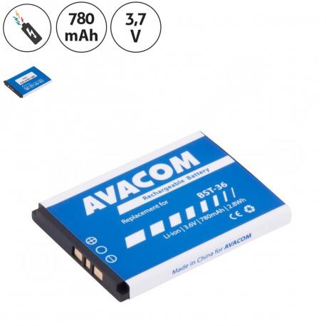 Sony Ericsson t270 Baterie pro mobilní telefon - 780mAh + zprostředkování servisu v ČR