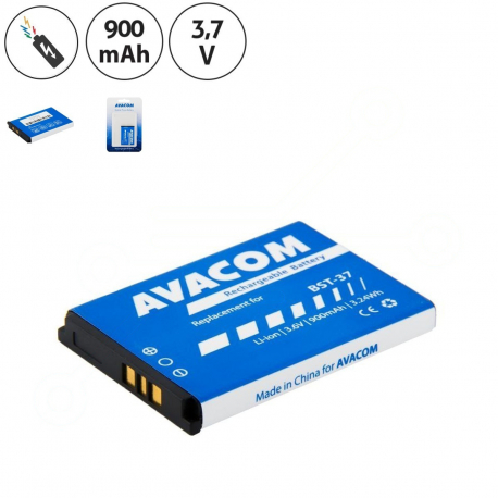 Sony Ericsson j220i Baterie pro mobilní telefon - 900mAh + zprostředkování servisu v ČR