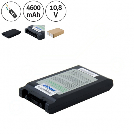 Toshiba Portege m400-s5032x tablet pc Baterie pro notebook - 4600mAh + doprava zdarma + zprostředkování servisu v ČR