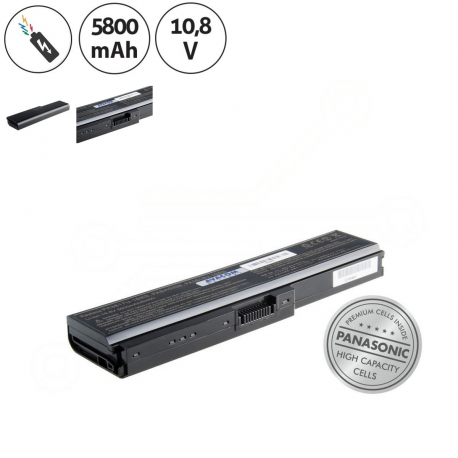 Toshiba Satellite l750-17p Baterie pro notebook - 5800mAh + doprava zdarma + zprostředkování servisu v ČR