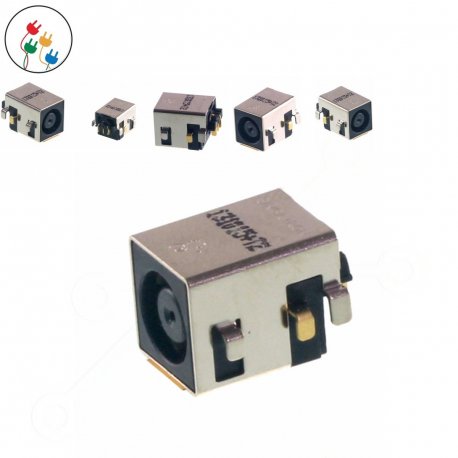 Dell Latitude E5410 Napájecí konektor - dc jack pro notebook - bez připojovacího kabelu plast + zprostředkování servisu v ČR
