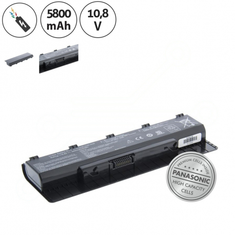 Asus N76VM-V2G-T1078 Baterie pro notebook - 5800mAh 6 článků + doprava zdarma + zprostředkování servisu v ČR