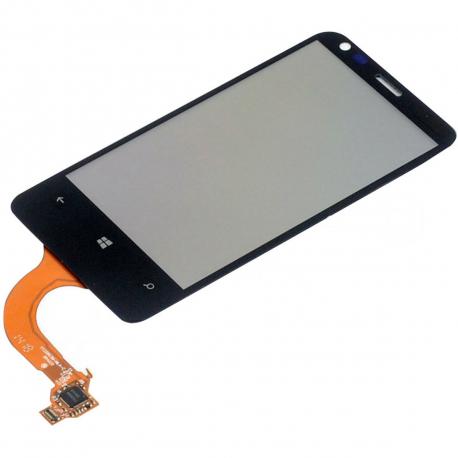 Nokia Lumia 620 Dotykové sklo pro mobilní telefon - 3,8 černá + zprostředkování servisu v ČR