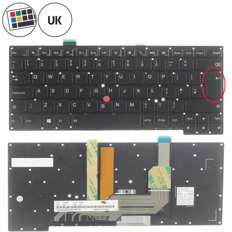 Lenovo ThinkPad S431 Klávesnice pro notebook - anglická - UK + doprava zdarma + zprostředkování servisu v ČR