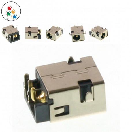 Asus X75VC-TY086H Napájecí konektor - dc jack pro notebook - 2 piny bez připojovacího kabelu + zprostředkování servisu v ČR