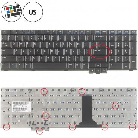 HP Compaq nx9420 Klávesnice pro notebook - americká - US + zprostředkování servisu v ČR