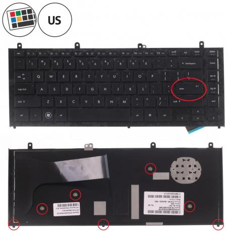 HP ProBook 4326s Klávesnice pro notebook - americká - US + zprostředkování servisu v ČR