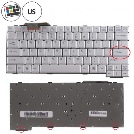 Fujitsu Siemens LIFEBOOK E8310 Klávesnice pro notebook - americká - US + zprostředkování servisu v ČR