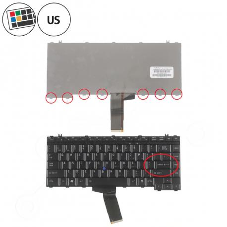 Toshiba Tecra P10 Klávesnice pro notebook - americká - US + zprostředkování servisu v ČR