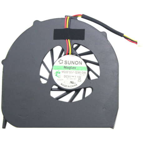 Acer Aspire 5542G Ventilátor pro notebook - 3 piny plast + zprostředkování servisu v ČR