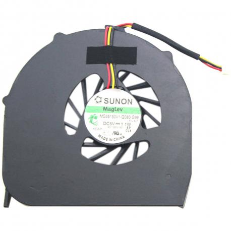Acer Aspire 5740G Ventilátor pro notebook - 3 piny plast + zprostředkování servisu v ČR