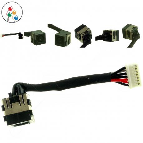 Dell Latitude E4300 Napájecí konektor - dc jack pro notebook - 7 pinů s připojovacím kabelem plast + zprostředkování servisu v ČR