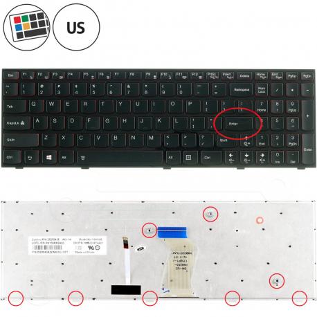Lenovo IdeaPad Y500-9541 Klávesnice pro notebook - americká - US + zprostředkování servisu v ČR