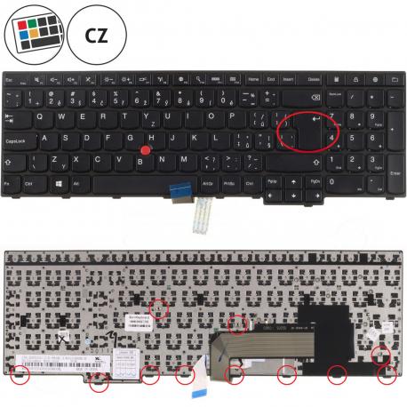 Lenovo ThinkPad Edge E540 Klávesnice pro notebook - CZ + doprava zdarma + zprostředkování servisu v ČR