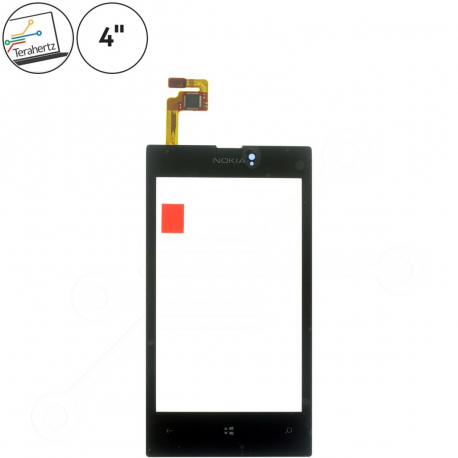 """Nokia Lumia 520 Dotykové sklo pro mobilní telefon - 4"""" černá + zprostředkování servisu v ČR"""