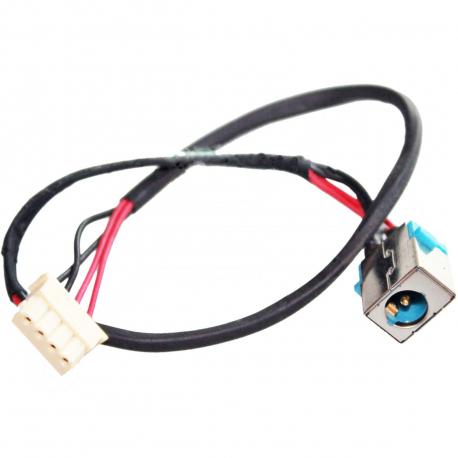 Acer Aspire 4820tg-7566 TimelineX Napájecí konektor - dc jack pro notebook - 4 pinů s připojovacím kabelem kov + zprostředkování servisu v ČR