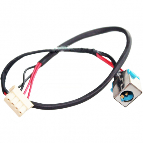 Acer Aspire 4820tg-6847 TimelineX Napájecí konektor - dc jack pro notebook - 4 pinů s připojovacím kabelem kov + zprostředkování servisu v ČR