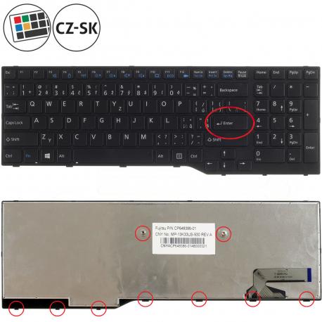 Fujitsu Siemens LIFEBOOK A544 Klávesnice pro notebook - CZ / SK + doprava zdarma + zprostředkování servisu v ČR