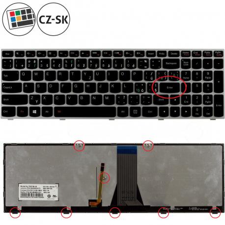 Lenovo B50-30 Touch Series Erazer Klávesnice pro notebook - CZ / SK + doprava zdarma + zprostředkování servisu v ČR