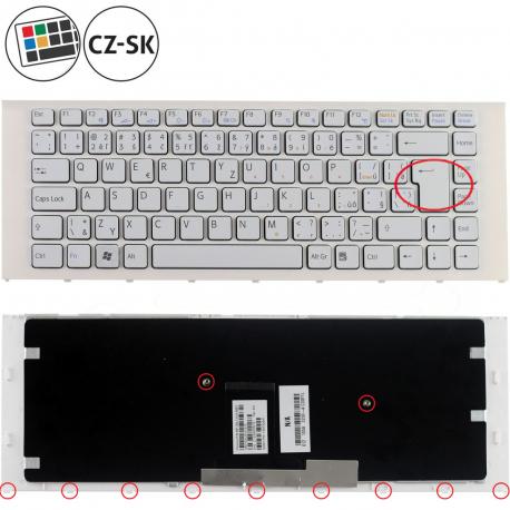 Sony Vaio VPC-EA12EN Klávesnice pro notebook - CZ / SK + zprostředkování servisu v ČR