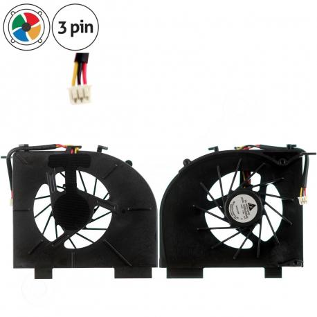 HP Pavilion dv6-1140eo Ventilátor pro notebook - 3 piny vrtule je odkryta 3 díry na šroubky + zprostředkování servisu v ČR
